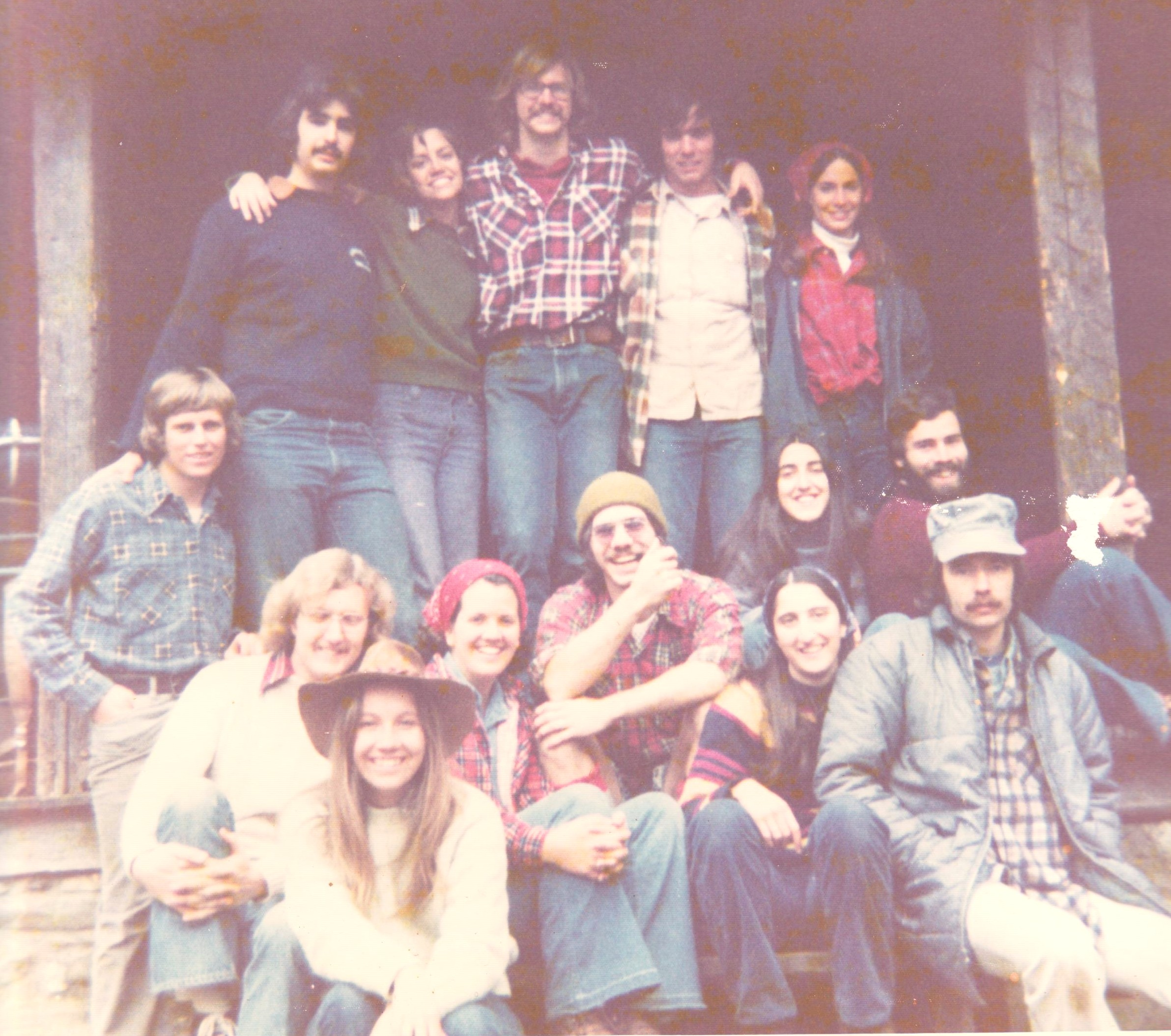 Furman Camping Friends 1974 001